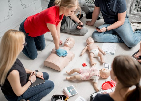 Teenagers Summer Camp First Aid Course